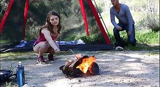FantasyHD Young Girl Camping hookup