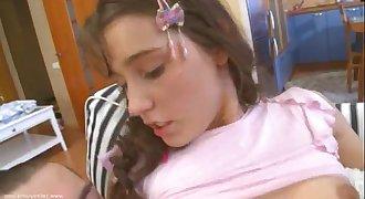Russian teen Katie anal banged hard